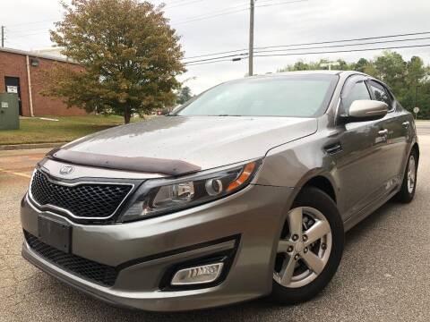2015 Kia Optima for sale at Gwinnett Luxury Motors in Buford GA