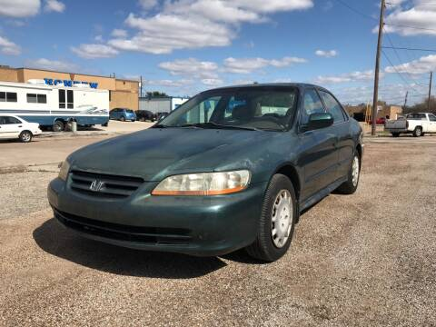 2002 Honda Accord for sale at BJ International Auto LLC in Dallas TX