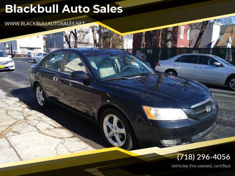 2007 Hyundai Sonata for sale at Blackbull Auto Sales in Ozone Park NY