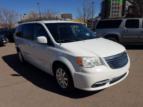 2013 Chrysler Town and Country for sale at BERKENKOTTER MOTORS in Brighton CO