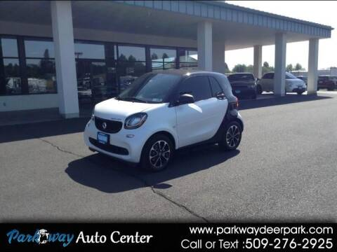 2017 Smart fortwo electric drive for sale at PARKWAY AUTO CENTER AND RV in Deer Park WA