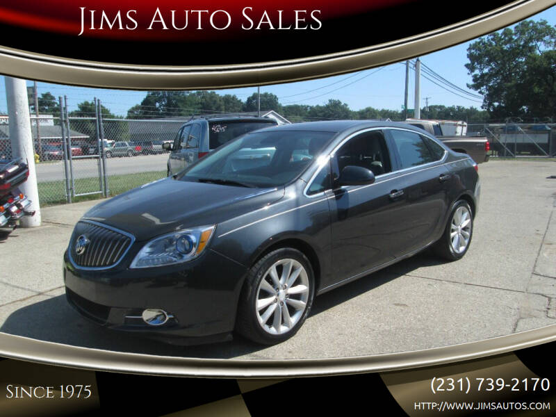 2014 Buick Verano for sale at Jims Auto Sales in Muskegon MI