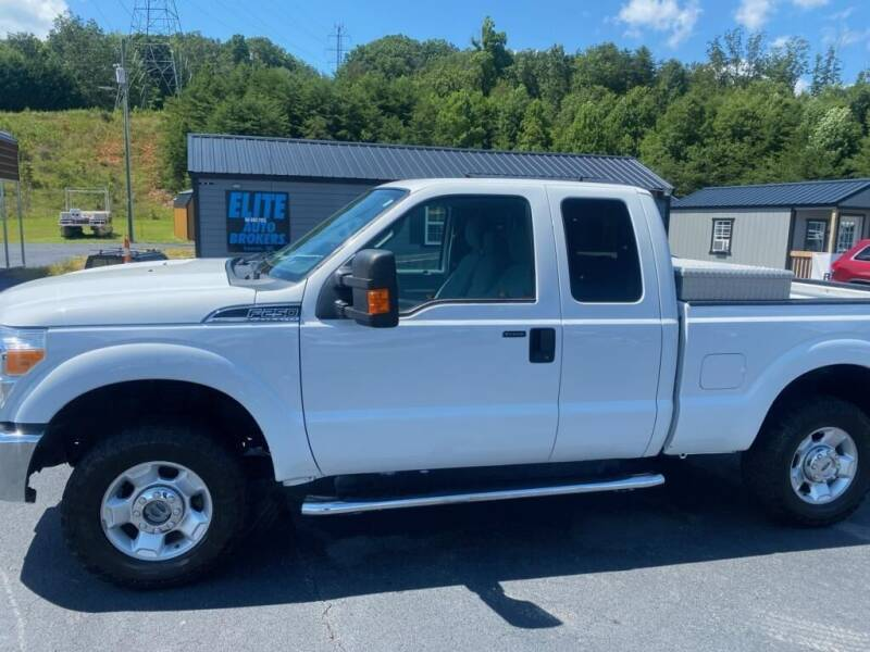 2012 Ford F-250 Super Duty for sale at Elite Auto Brokers in Lenoir NC