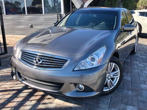 2013 Infiniti G37 Sedan for sale at Unique Motors of Tampa in Tampa FL