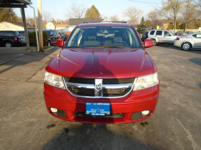 2010 Dodge Journey for sale at DISCOVER AUTO SALES in Racine WI