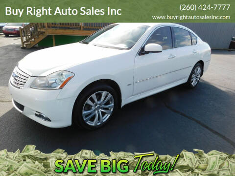 2010 Infiniti M35 for sale at Buy Right Auto Sales Inc in Fort Wayne IN