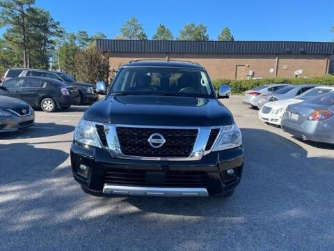 2018 Nissan Armada for sale at PHIL SMITH AUTOMOTIVE GROUP - Pinehurst Nissan Kia in Southern Pines NC