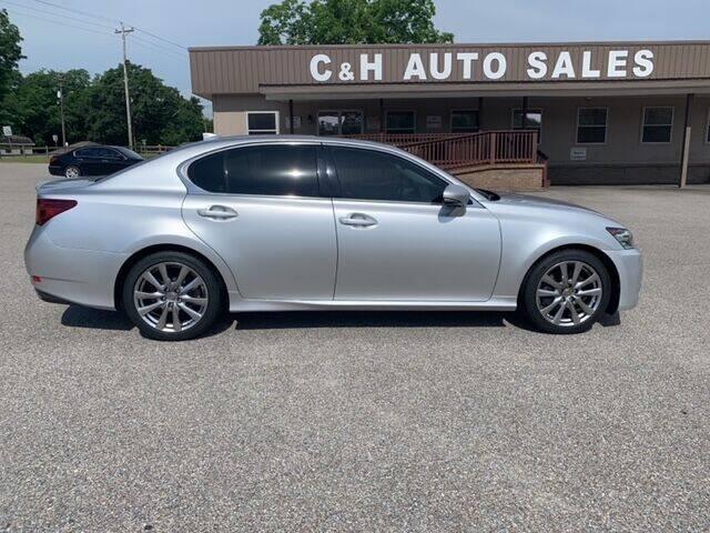 2015 Lexus GS 350 for sale at C & H AUTO SALES WITH RICARDO ZAMORA in Daleville AL
