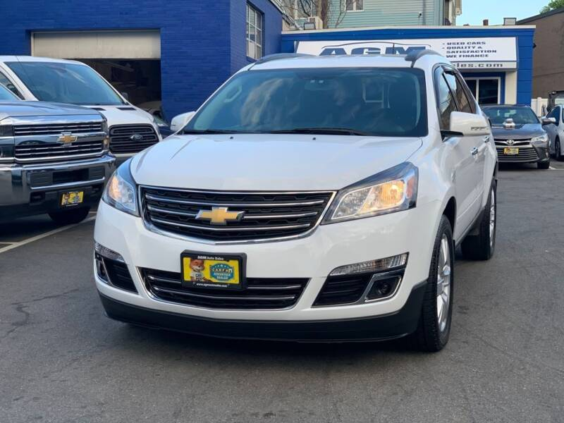 2017 Chevrolet Traverse for sale at AGM AUTO SALES in Malden MA