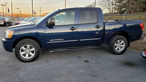 2010 Nissan Titan for sale at Green Tree Motors in Elizabethton TN