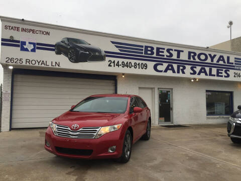 2009 Toyota Venza for sale at Best Royal Car Sales in Dallas TX