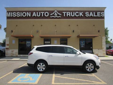 2014 Chevrolet Traverse for sale at Mission Auto & Truck Sales, Inc. in Mission TX