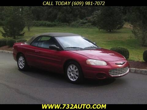 2002 Chrysler Sebring for sale at Absolute Auto Solutions in Hamilton NJ