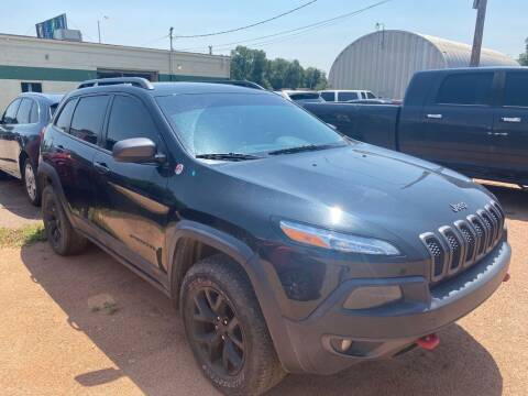 2014 Jeep Cherokee for sale at Street Smart Auto Brokers in Colorado Springs CO