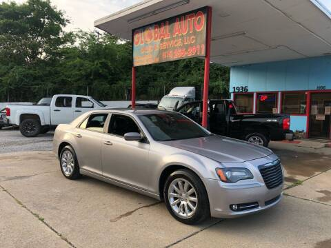2014 Chrysler 300 for sale at Global Auto Sales and Service in Nashville TN