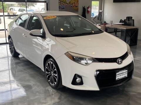 2015 Toyota Corolla for sale at Crossroads Car & Truck in Milford OH