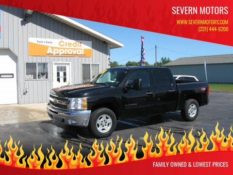 2013 Chevrolet Silverado 1500 for sale at Severn Motors in Cadillac MI