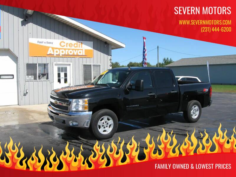 2013 Chevrolet Silverado 1500 for sale at Severn Motors in Cadillac MI