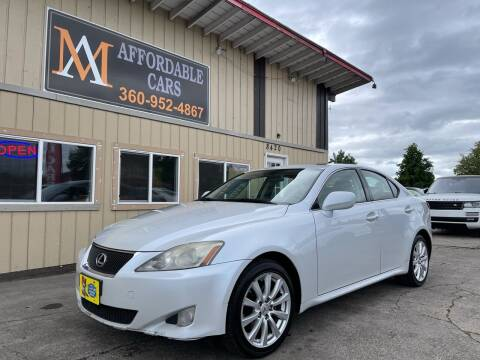 2006 Lexus IS 250 for sale at M & A Affordable Cars in Vancouver WA