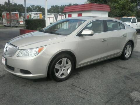 2010 Buick LaCrosse for sale at HARMAN MOTORS INC in Salisbury MD