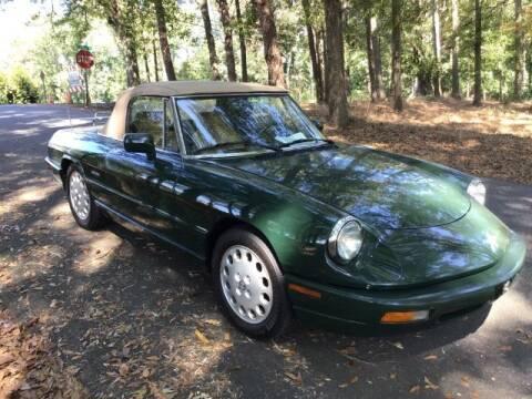 1991 Alfa Romeo Spider for sale at Roadtrip Carolinas in Greenville SC