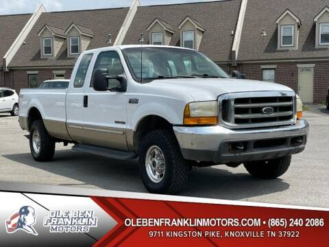 2000 Ford F-250 Super Duty for sale at Ole Ben Franklin Motors Clinton Highway in Knoxville TN