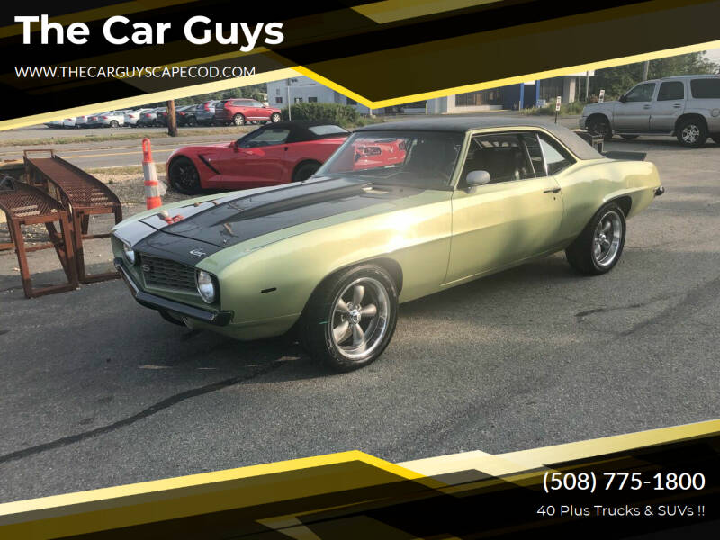 1969 Chevrolet Camaro for sale at The Car Guys in Hyannis MA