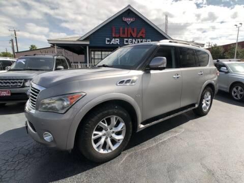 2014 Infiniti QX80 for sale at LUNA CAR CENTER in San Antonio TX