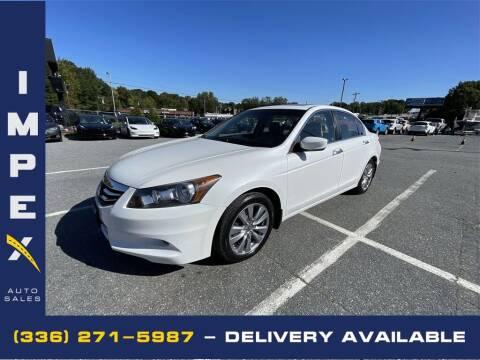 2012 Honda Accord for sale at Impex Auto Sales in Greensboro NC