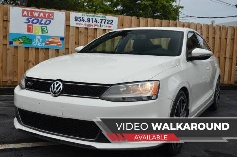 2014 Volkswagen Jetta for sale at ALWAYSSOLD123 INC in Fort Lauderdale FL