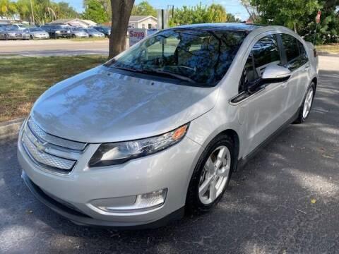 2012 Chevrolet Volt for sale at Florida Prestige Collection in St Petersburg FL