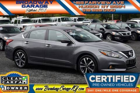 2016 Nissan Altima for sale at Broadway Garage of Columbia County Inc. in Hudson NY