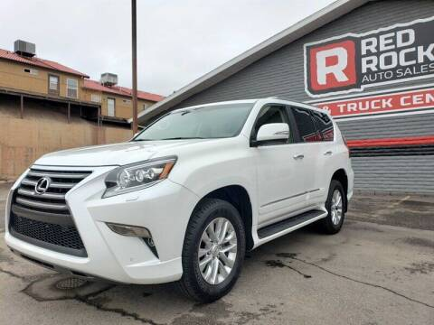 2015 Lexus GX 460 for sale at Red Rock Auto Sales in Saint George UT