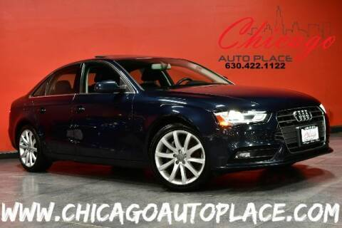 2013 Audi A4 for sale at Chicago Auto Place in Bensenville IL