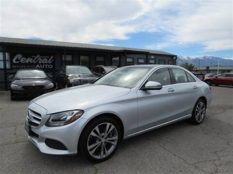 2016 Mercedes-Benz C-Class for sale at Central Auto in South Salt Lake UT