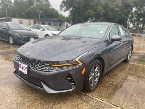 2021 Kia K5 for sale at USA Car Sales in Houston TX