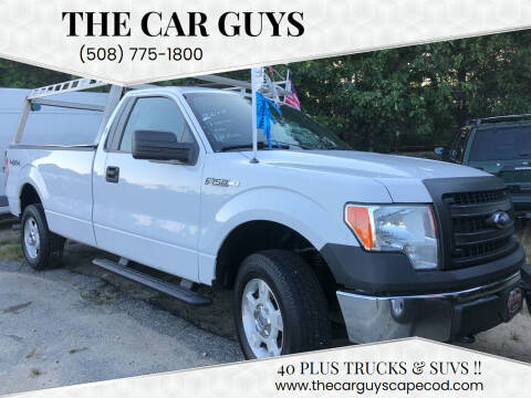 2014 Ford F-150 for sale at The Car Guys in Hyannis MA