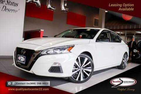 2020 Nissan Altima for sale at Quality Auto Center in Springfield NJ