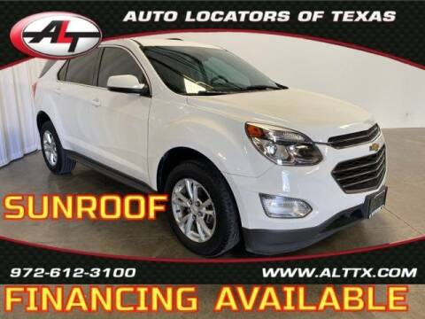 2017 Chevrolet Equinox for sale at AUTO LOCATORS OF TEXAS in Plano TX