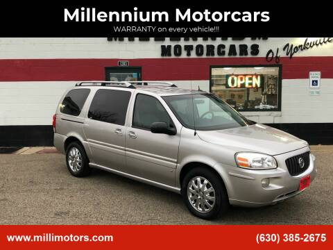 2007 Buick Terraza for sale at Millennium Motorcars in Yorkville IL