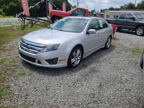 2010 Ford Fusion for sale at TR MOTORS in Gastonia NC