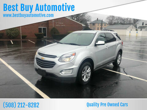 2017 Chevrolet Equinox for sale at Best Buy Automotive in Attleboro MA