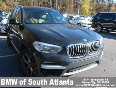 2020 BMW X3 for sale at Carol Benner @ BMW of South Atlanta in Union City GA