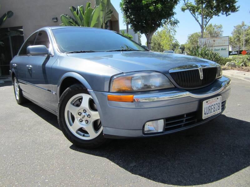 2000 Lincoln LS for sale at ORANGE COUNTY AUTO WHOLESALE in Irvine CA