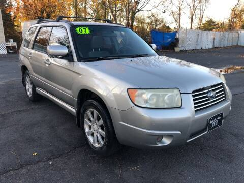 2007 Subaru Forester for sale at PARK AVENUE AUTOS in Collingswood NJ