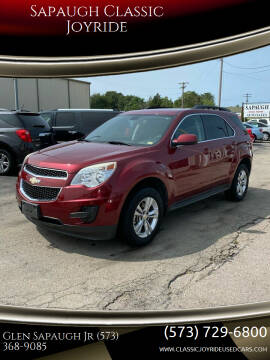 2010 Chevrolet Equinox for sale at Sapaugh Classic Joyride in Salem MO