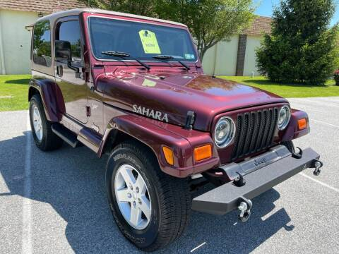 2002 Jeep Wrangler for sale at CROSSROADS AUTO SALES in West Chester PA