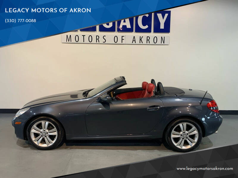2010 Mercedes-Benz SLK for sale at LEGACY MOTORS OF AKRON in Akron OH