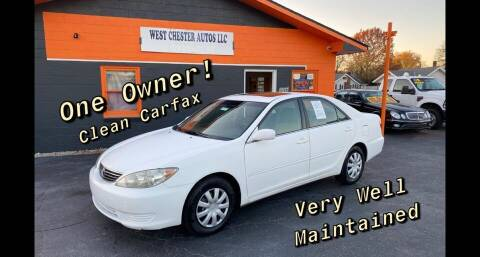 2005 Toyota Camry for sale at West Chester Autos in Hamilton OH
