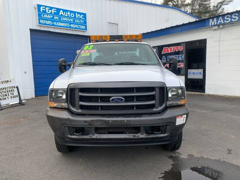 2002 Ford F-550 Super Duty for sale at F&F Auto Inc. in West Bridgewater MA